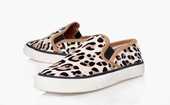 item of the day animal print slip on shoes the garage