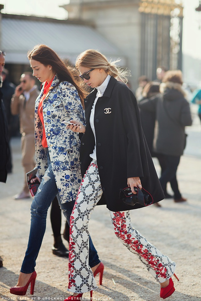 The_Garage_Starlets_Katia_Peneva_Alina_Stan_Stockholm_Streetstyle_Carolines_Mode_PFW_Fall_2013_Gucci_Christian_Louboutin_Charlotte_Olympia_Isabel_Marant_Chanel_Tom_Ford_01